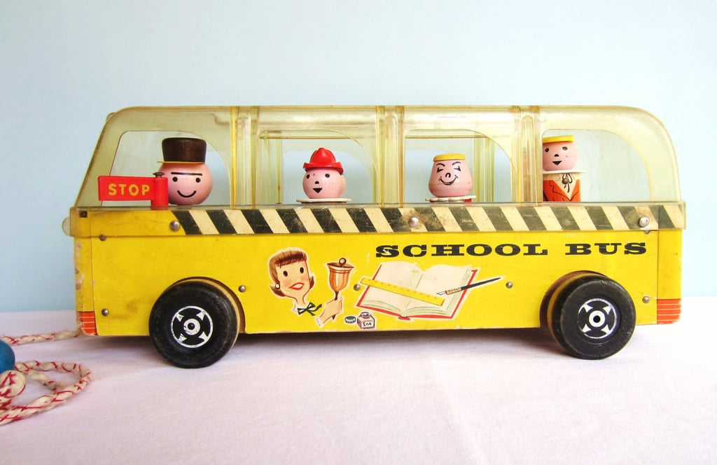 Fisher-Price Little People Safety School Bus — 1959
