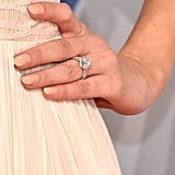 Her beautiful ring stole the spotlight.