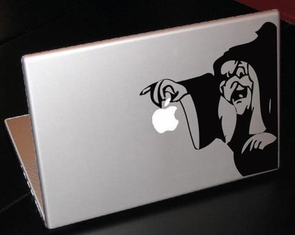 Photos of Geeky and Cool Vinyl Laptop Decals