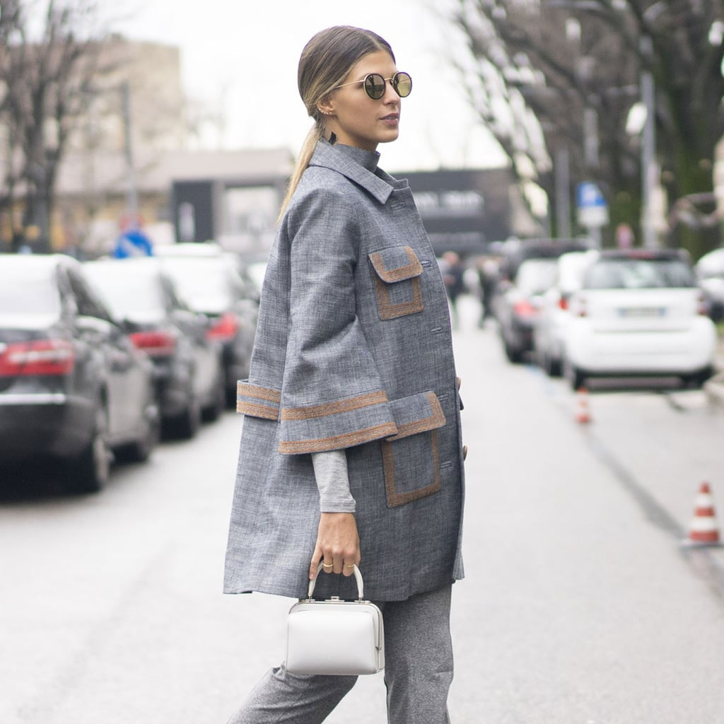 Milan Fashion Week Street Style Fall 2016 Popsugar Fashion