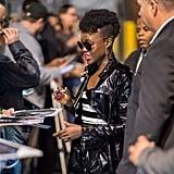 Lupita Nyong'o's Modernized Mohawk in 2018