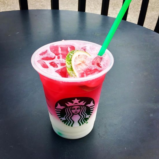 Starbucks Ombre Pink Drink