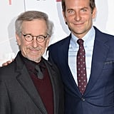 Bradley Cooper caught up with Steven Spielberg.
