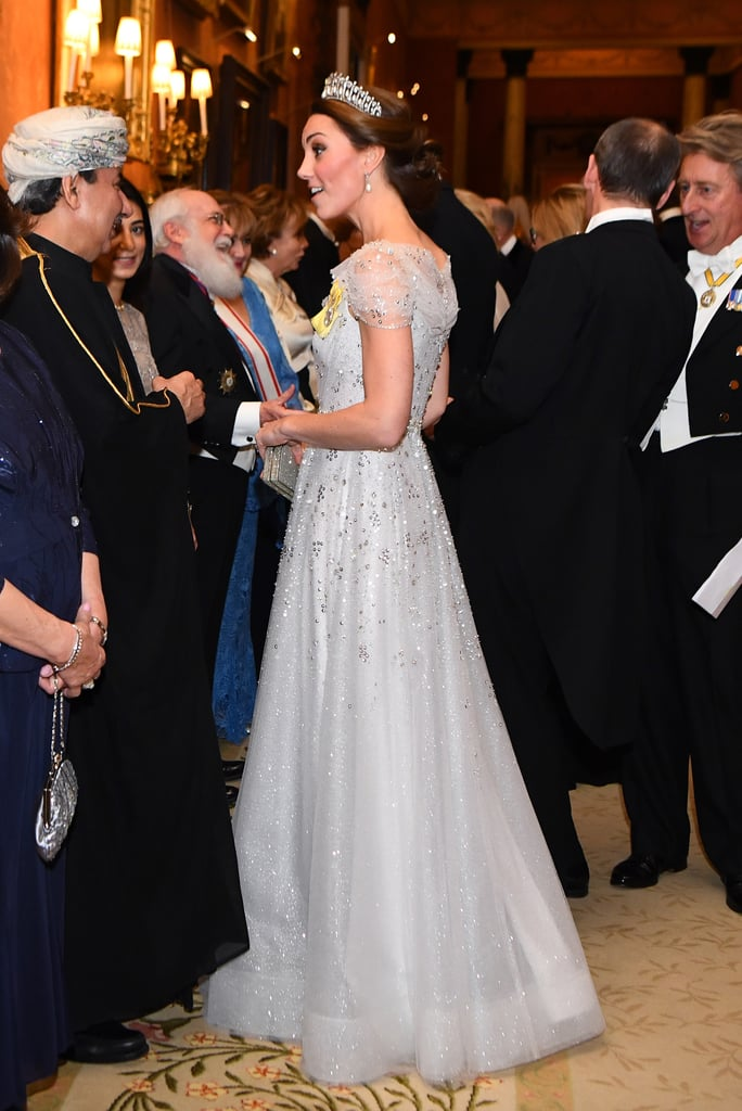 Kate Middleton And Prince William At Queens Reception 2018