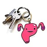 Uterus Keychain