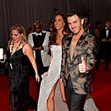 Kevin and Danielle Jonas at the 2020 Grammys