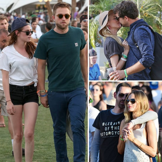 Celebrity Couples Show Some Love At Coachella