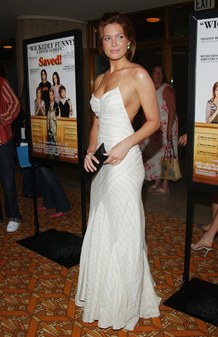 At The La Premiere Of Saved In 2004 Mandy Moore S Red