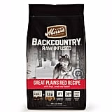 Merrick Backcountry Grain Free Raw Infused Great Plains Red Meat Adult Dog Food ($17)