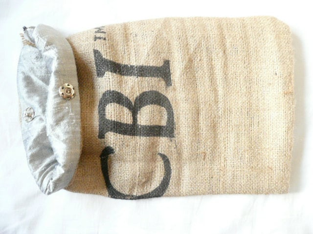 Recycled Coffee Sack Laptop Sleeve