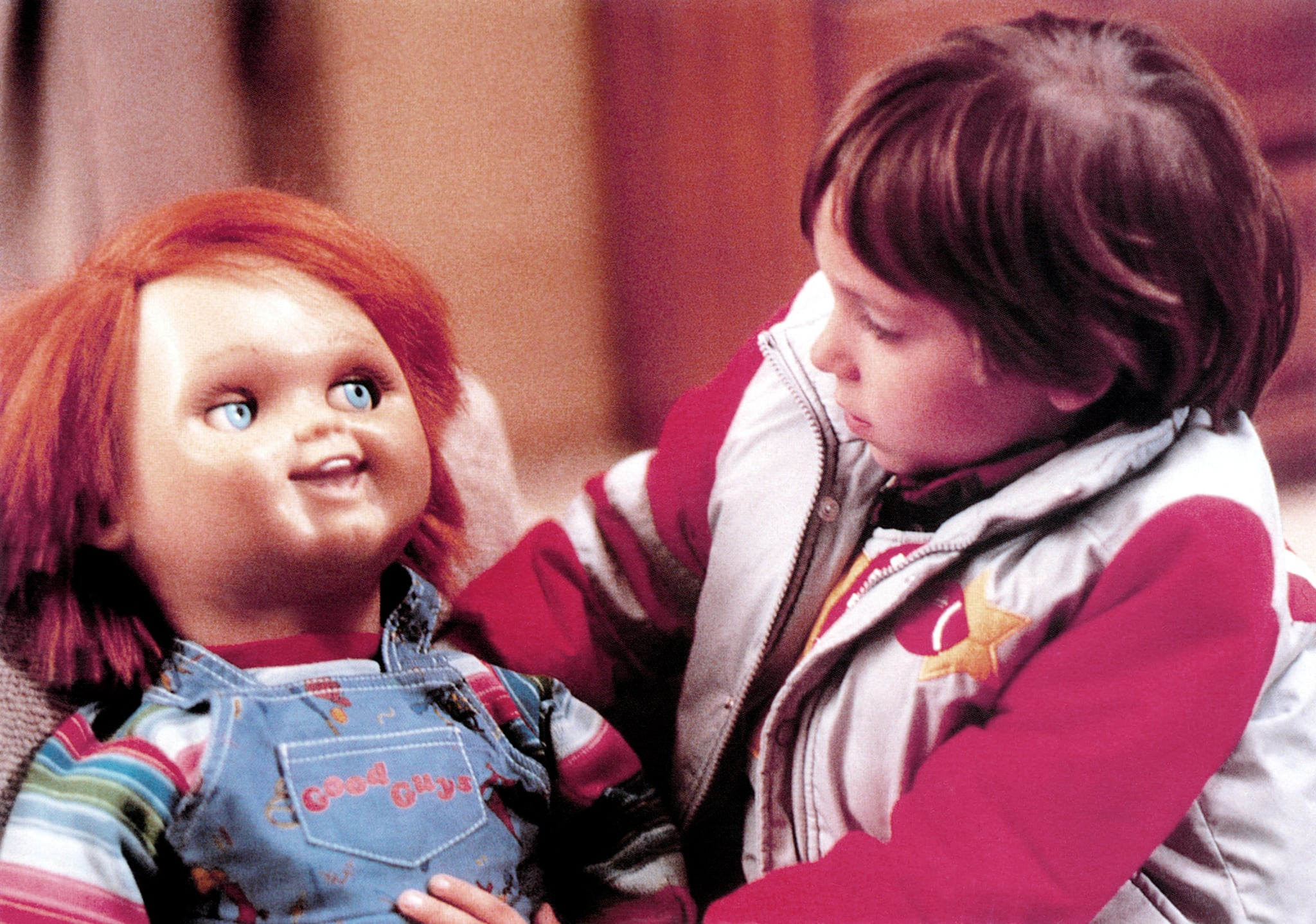CHILD'S PLAY, from left, Chucky, Alex Vincent, 1988, United Artists/courtesy Everett Collection