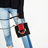حقيبة الكتف الصغيرة من زارا ($40)