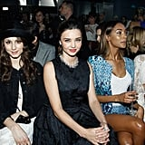 Miranda Kerr and Jessica Alba Are the Latest Front-Row Friends