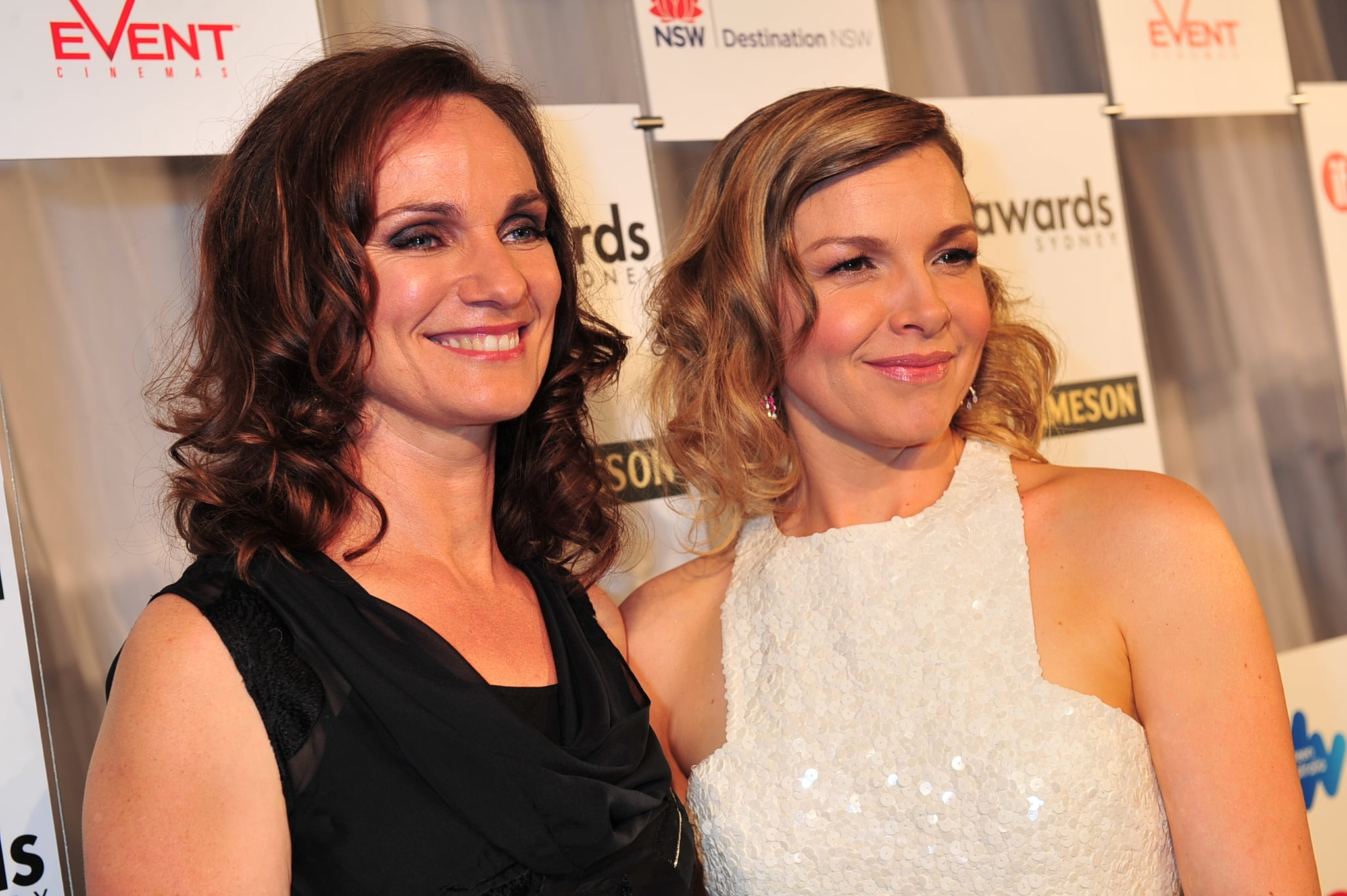 Catherine McClements and Justine Clarke