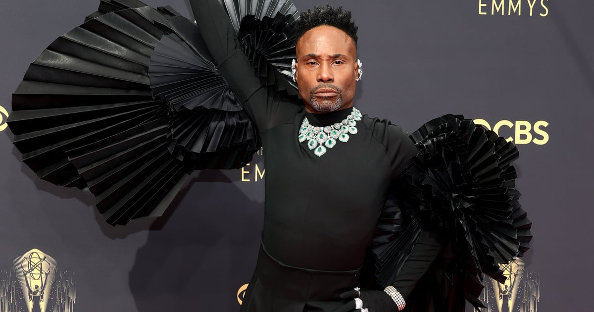 Billy Porter May Be Wearing Wings, but Flying Would Be a Challenge in Such Heavy Diamonds