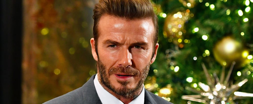 David Beckham Smolders While Lighting the Empire State Building and Celebrating UNICEF