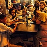 The gang's all here! Samira Wiley shared this image of several cast members.
