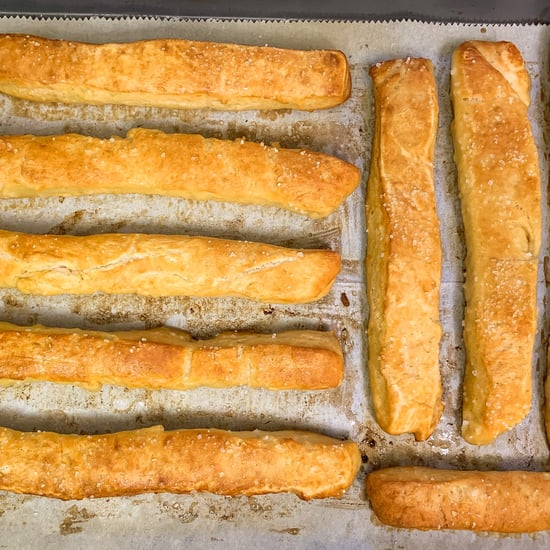 Bavarian Pretzel Sticks Recipe