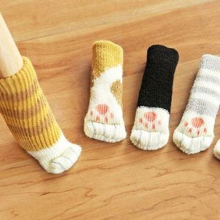 Cat Paw Chair Sock Sets