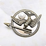 Mockingjay With Pearl Brooch ($7)