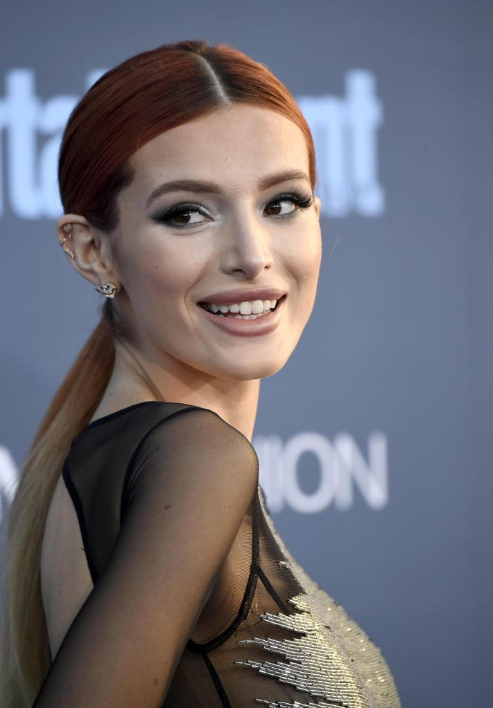 Bella Thorne-Golden Globes 2017-makeup trends