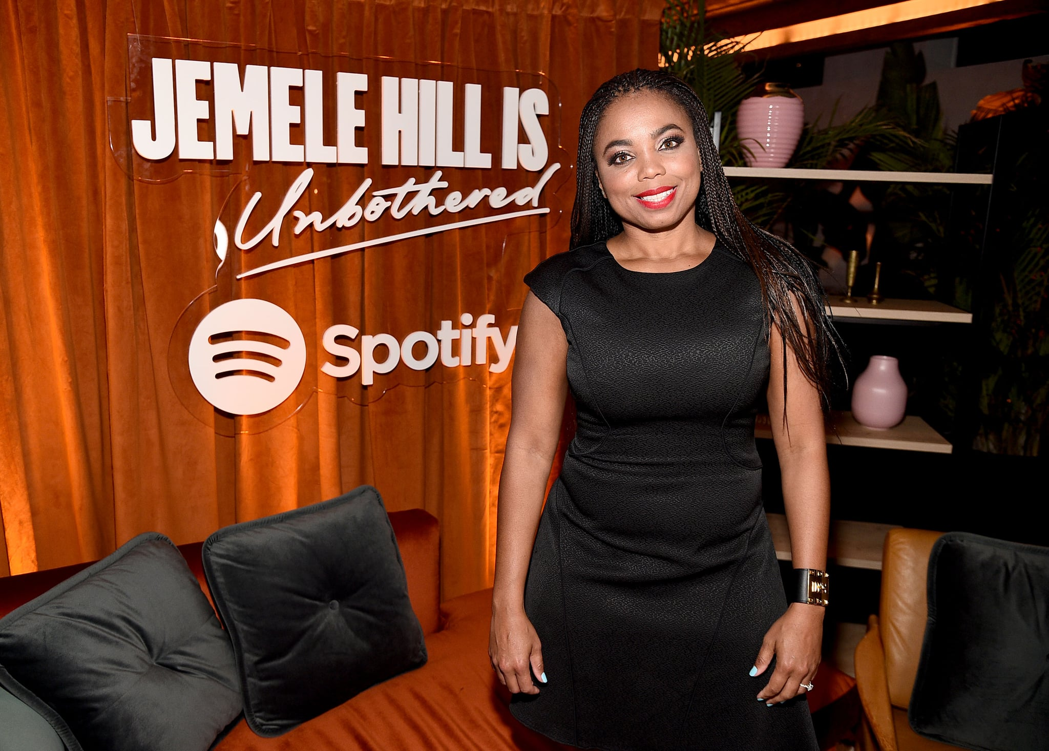 NEW YORK, NEW YORK - MARCH 26: Jemele Hill attends 'Spotify - Jemele Hill is Unbothered' at Gitano on March 26, 2019 in New York City. (Photo by Theo Wargo/Getty Images for Spotify)