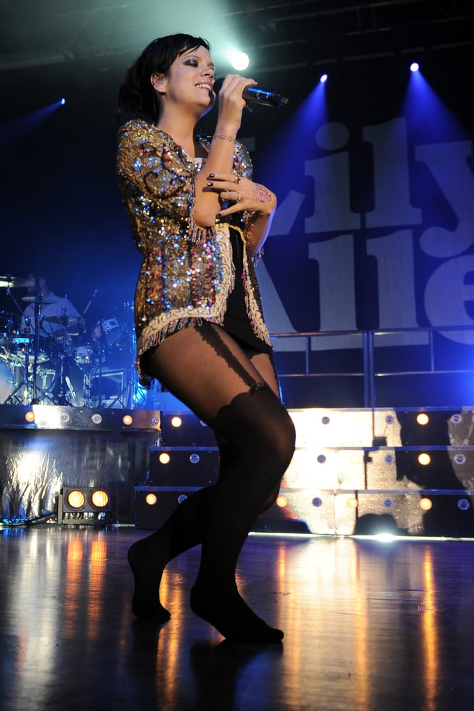 Photos of Lily Allen Performing in Milan