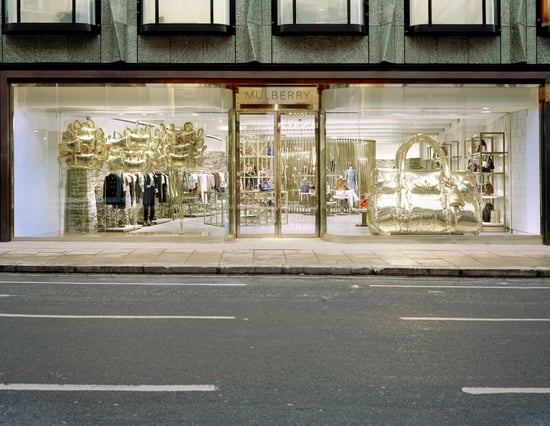 Photos of the New Mulberry Store on Bond Street in London
