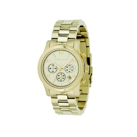 Gold Watch, approx $273, Michael Kors from Marissa Collections