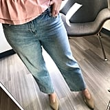 Old Navy High-Waisted Light Stone-Washed Slim Wide-Leg Jeans