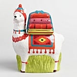 Ceramic Llama Cookie Jar ($15)