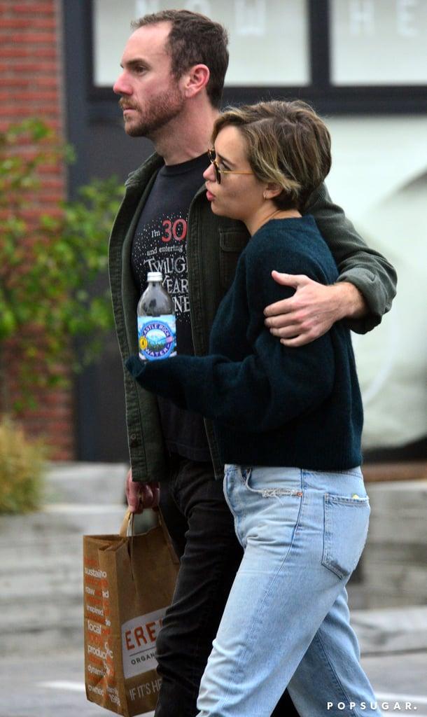 Emilia Clarke and Charlie McDowell PDA Pictures in LA 2018 ...  Emilia Clarke a...