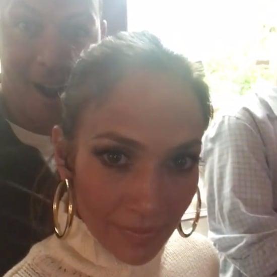 Jennifer Lopez World of Dance Premiere With Alex Rodriguez