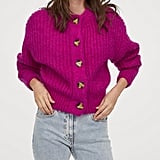 H&M Chunky-Knit Wool Cardigan