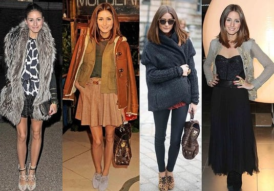 Olivia Palermo Street Style at London Fashion Week