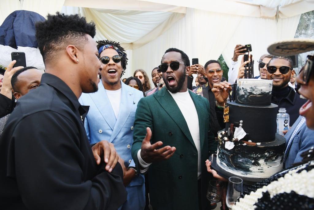 Beyonce and JAY-Z at Roc Nation Brunch 2019   POPSUGAR