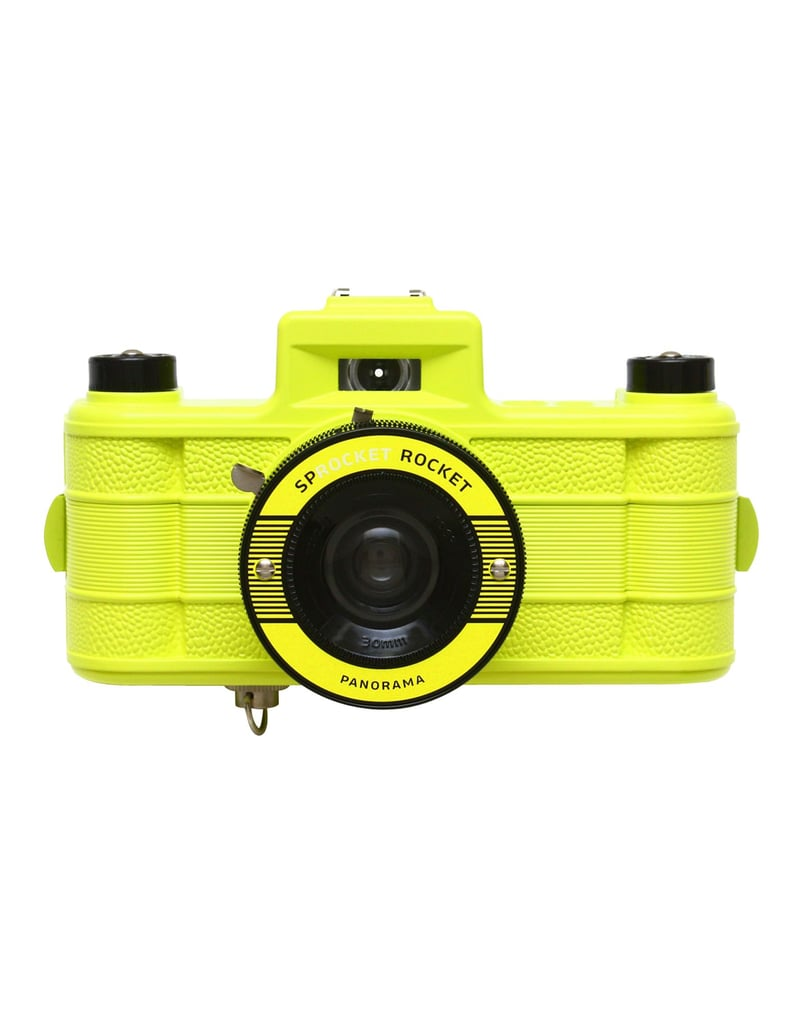 Lomography cameras are such a fun way to take pictures and this neon yellow rendition ($135) not only scores high on the style meter, but is also a really cool gift for the novice photographer.