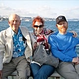 The Time They Celebrated Three Generations of Howards at Sea
