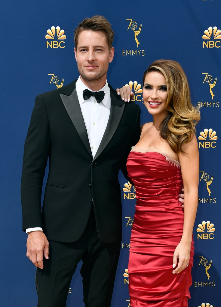 Justin Hartley and Chrishell Hartley