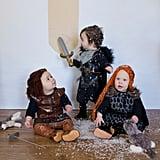 Arya Stark, Sansa Stark, and Jon Snow (Game of Thrones)