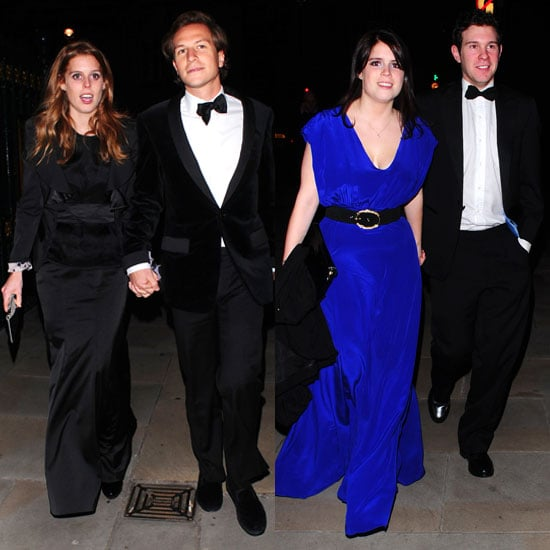 Pictures of Princess Beatrice and Princess Eugenie With Boyfriends Dave Clark and Jack Brooksbank at Children's Charity Event