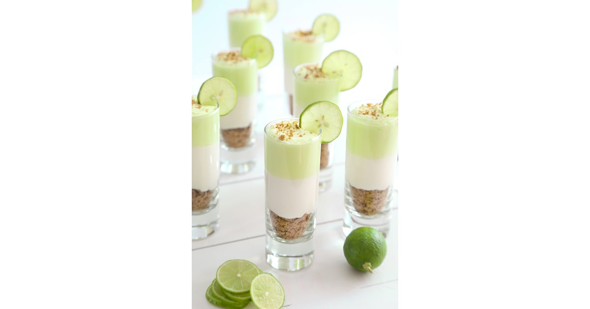 Light Key Lime Cheesecake Shots