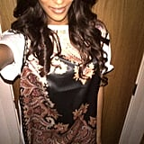 Jourdan Dunn shared a photo of her Givenchy t-shirt. Source: Twitter user missjourdandunn