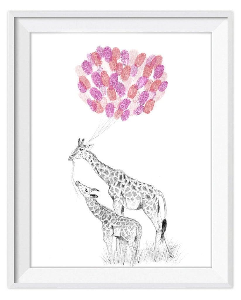 Giraffe Art ($45)