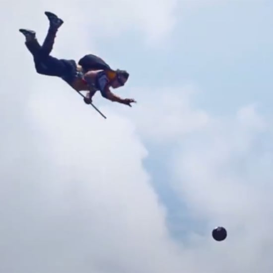 Skydivers Play Qudditch