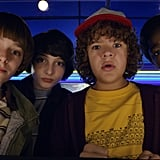 Will, Mike, Dustin, and Lucas From Stranger Things
