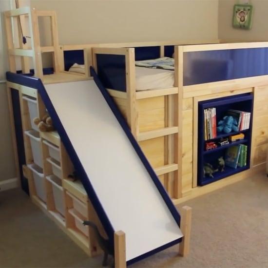 Kids' Bed Ikea Hack