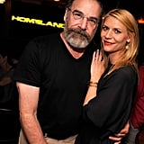Claire Danes and Mandy Patinkin linked up at a screening of Homeland's upcoming fourth season in NYC on Thursday.