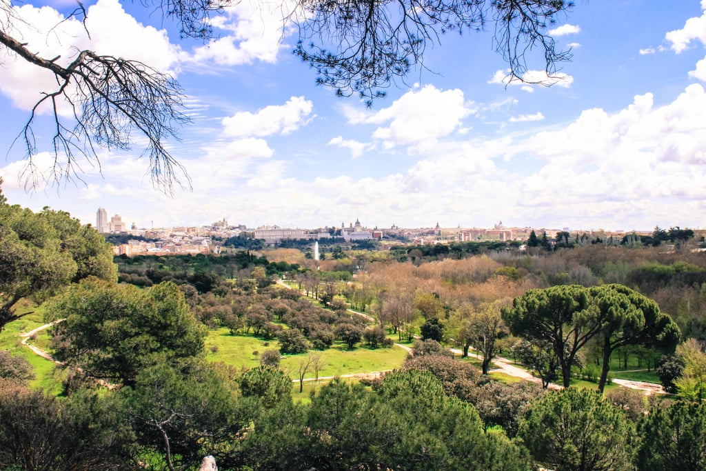 Once you arrive to the other side, you'll be greeted with sweeping panoramic views of the city, and you will now be in the largest park of Madrid. With over 4,000 acres to explore, this is a great place to marvel in the fresh air and reconnect with nature.