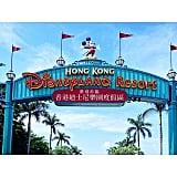 Now onto Hong Kong Disneyland.